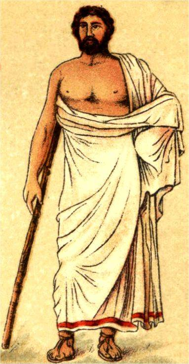 Ancient Greek Himation Clothing