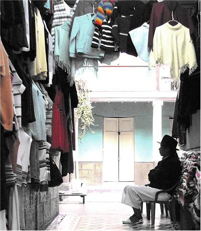 Clothes On Street